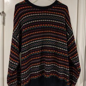 VTG Lobo by Pendleton Chunky Sweater Striped L